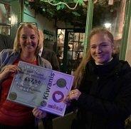 Kiwanis cheque voor Stichting Muziekids – profiel