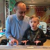 Casper & Papa Keyboarders